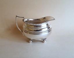 William Hutton silver cream jug