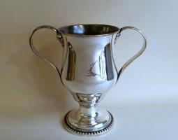 Old Sheffield Plate cup