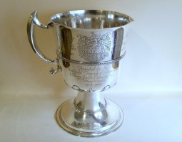 Edwardian Fishmongers silver jug