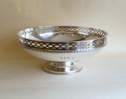 Elkington silver bowl
