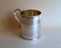 Aberdeen silver mug Scottish