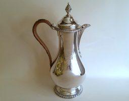 George III silver water jug
