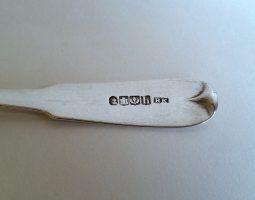 Scottish Perth silver toddy ladle