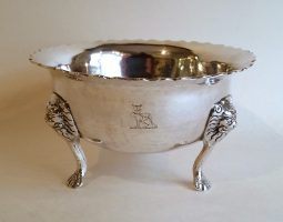 Cork silver bowl Hodder