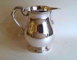 Silver milk jug