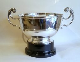 Large silver cup