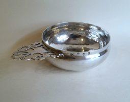 Queen Anne silver bleeding bowl