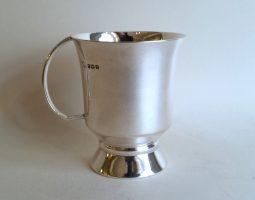 Silver child's mug