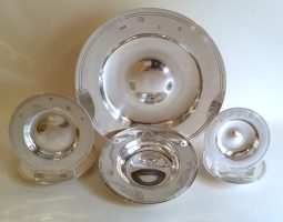 Silver Armada dishes