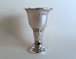 Silver Arts and Crafts egg cup