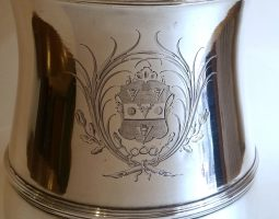 Parker arms on tankard