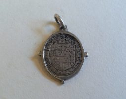 Charles II royalist badge reverse