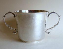 Tessiers silver porringer