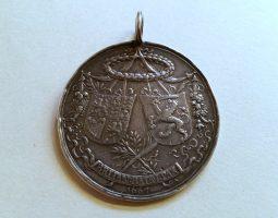 Charles II Peace of Breda silver medal