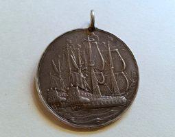 Charles II silver Peace of Breda Medal