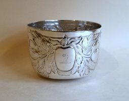 Charles II provincial silver York tumbler cup
